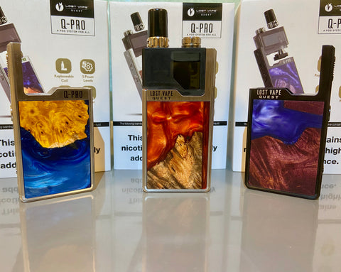 Lost Vape Orion Q-Pro Stabwood Resin Series, Starter Kits,  Lost Vape,- Lone Star Vapors