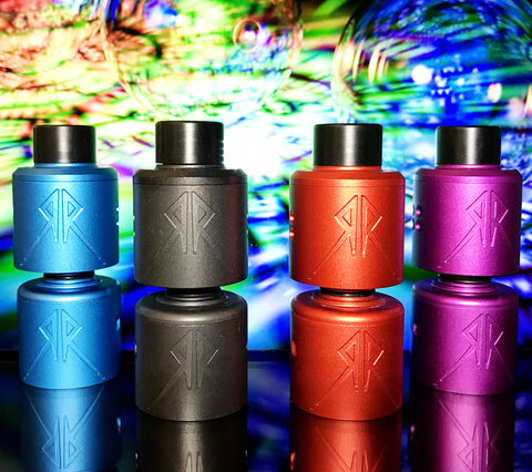 Recoil Rebel RDA with Squonk Post by GRIMMGREEN X OHMBOYOC, RDA,  Recoil,- Lone Star Vapors