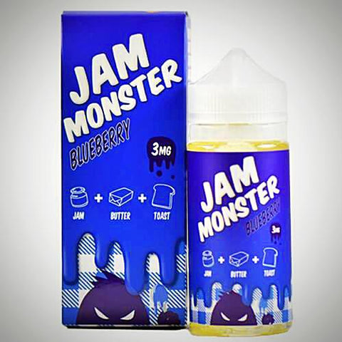 Jam Monster ~ Blueberry, eJuice,  Jam Monster,- Lone Star Vapors