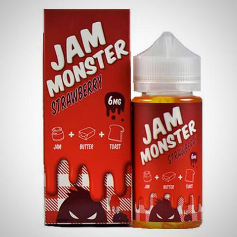 Jam Monster ~ Strawberry, eJuice,  Jam Monster,- Lone Star Vapors