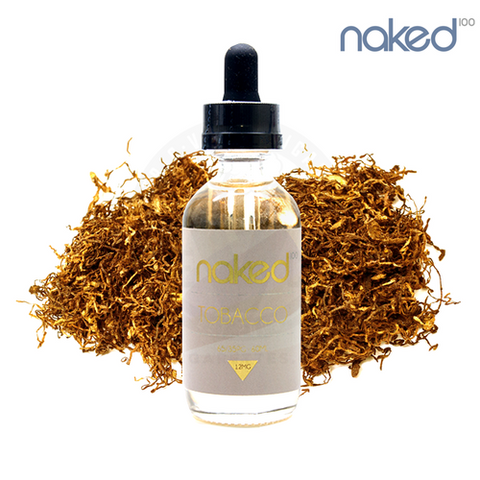 Naked 100 Tobacco Euro Gold, eJuice,  Naked 100,- Lone Star Vapors