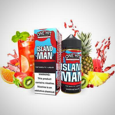 One Hit Wonder eLiquid - Island Man 100ml, eJuice,  One Hit Wonder,- Lone Star Vapors