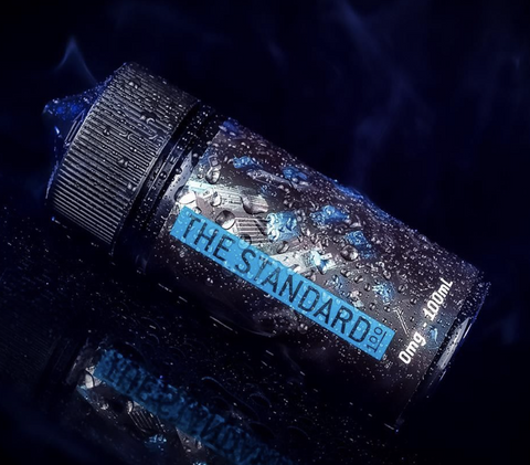 The STANDARD 100 - Blue, eJuice,  Saveur Vape,- Lone Star Vapors