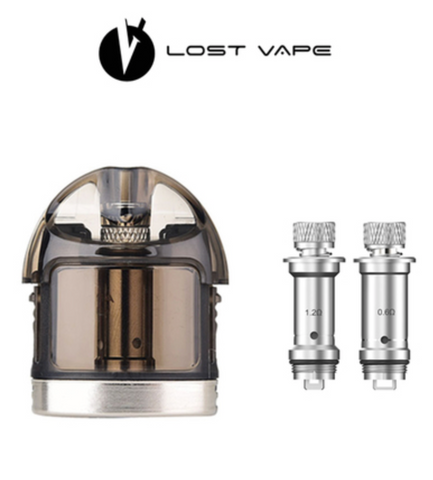 Lost Vape Lyra 2ML Replacement Pod With 2 x Replacement Coils, Accessory,  Lost Vape,- Lone Star Vapors