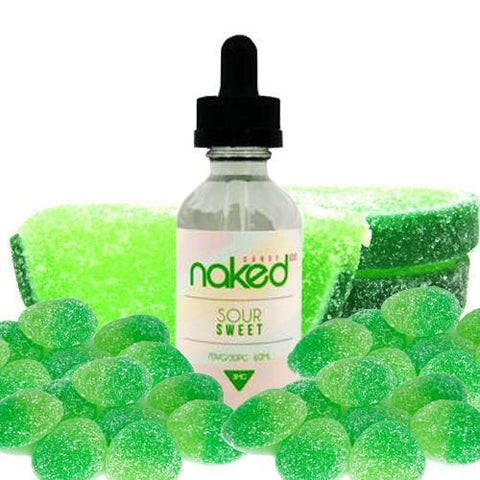 Naked 100 Green Lemon/Sour Sweet, eJuice,  Naked 100,- Lone Star Vapors