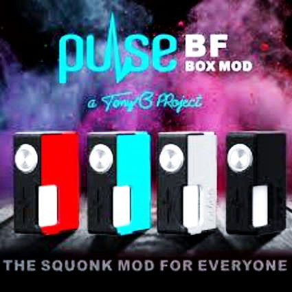 Pulse BF Box Mod by Vandy Vape, Mod,  Vandy Vape,- Lone Star Vapors