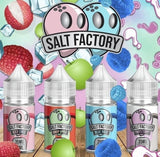 Salt Factory Nicotine Salt by Air Factory e-Liquid, eJuice,  AIR FACTORY,- Lone Star Vapors