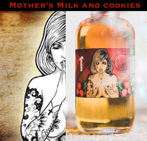 Suicide Bunny - Mother's MIlk & Cookies, eJuice,  Suicide Bunny.,- Lone Star Vapors