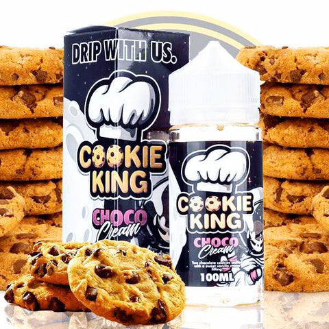 Cookie King Choco Cream, eJuice,  Candy King,- Lone Star Vapors