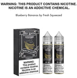 Blueberry Bananas by Fresh Squeezed 100ml, eJuice,  Fresh Squeezed,- Lone Star Vapors