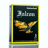HorizonTech Falcon Bamboo Fiber Replacement Coils - Pack of 3, Accessory,  HorizonTech,- Lone Star Vapors