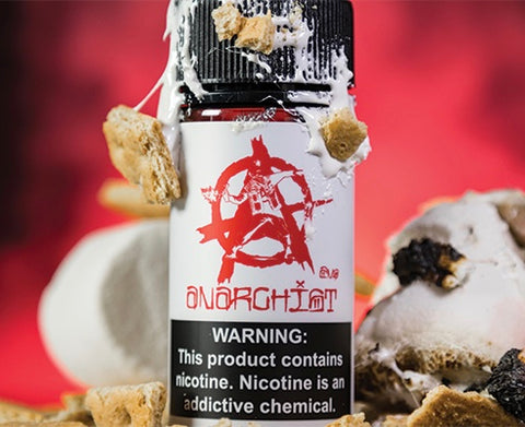 Anarchist eLiquid White, eJuice,  Anarchist Mfg.,- Lone Star Vapors