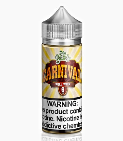 Carnival Roll Whip by Juice Roll Upz, eJuice,  Juice Roll Upz,- Lone Star Vapors