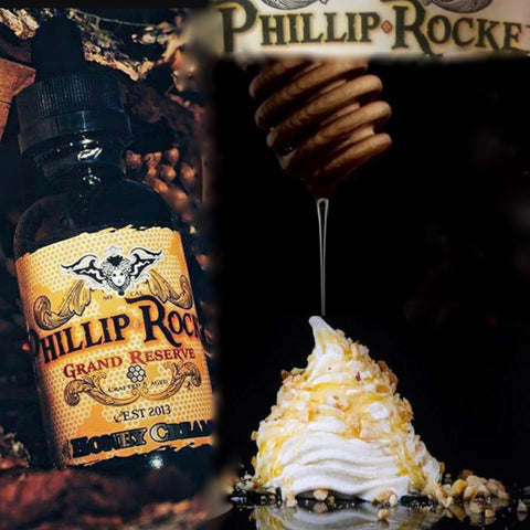 Phillip Rocke Grand Reserve ~ Honey Cream, eJuice,  Phillip Rocke,- Lone Star Vapors
