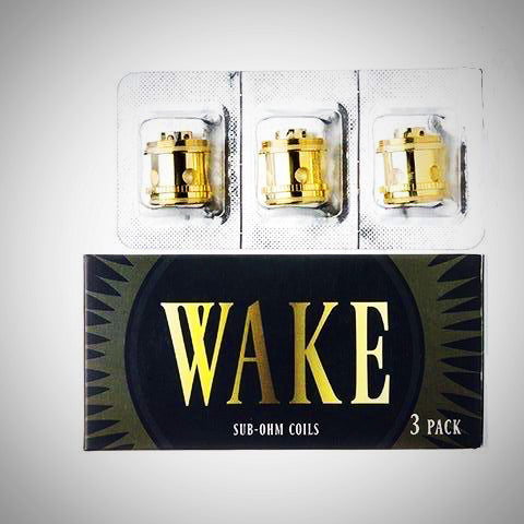 Wake Tank Sub-Ohm Replacement Coils ~ 3 Pack, Accessory,  Wake Mod Co.,- Lone Star Vapors