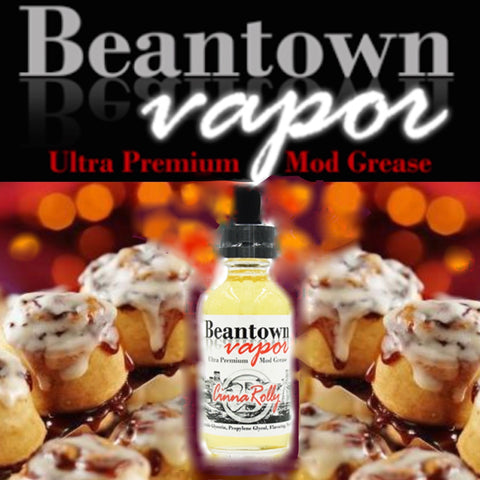 Beantown Cinnarolly, eJuice,  Beantown Vapor,- Lone Star Vapors