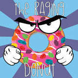 Food Fighter ~ The Raging Donut, eJuice,  Food Fighter,- Lone Star Vapors