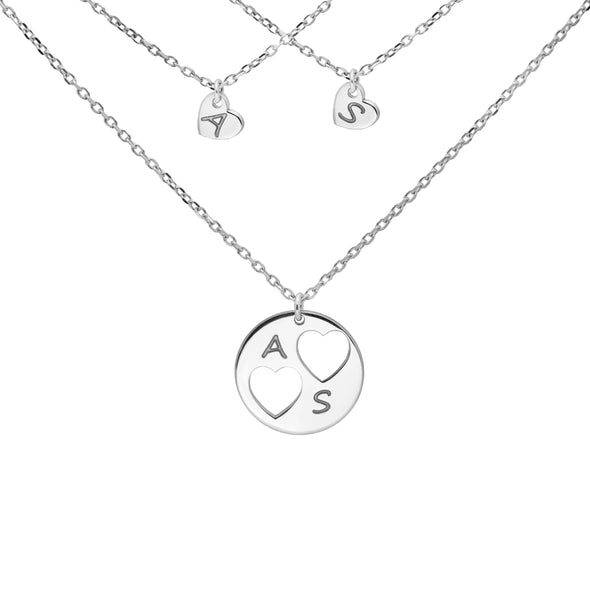 Mother-Daughter Necklace Set