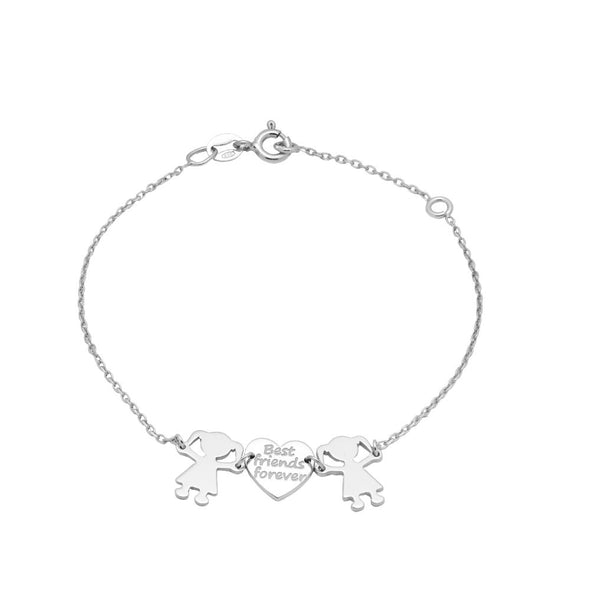 Best Friends Silver Bracelet
