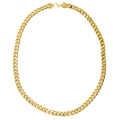 Thick Cuban Link Chain Necklace