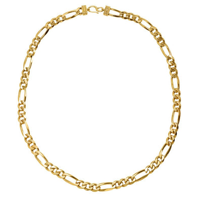 Statement Figaro Chain Necklace
