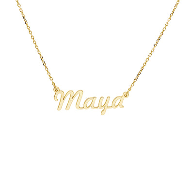 Personalized Kids Name Necklace
