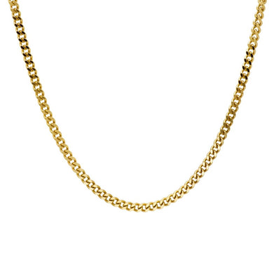Layered Curb Chain Necklace