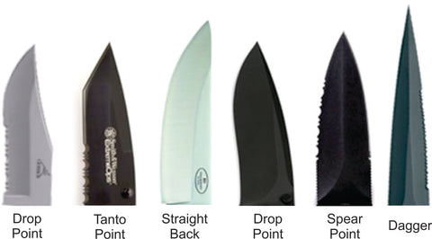 Making Knife - blade types