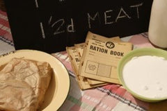 ration-book-with-post-world-war-ii-great-britain-items-300x200