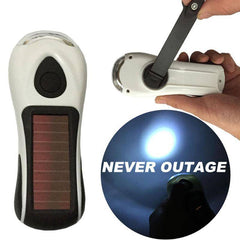 Portable Solar Flashlight