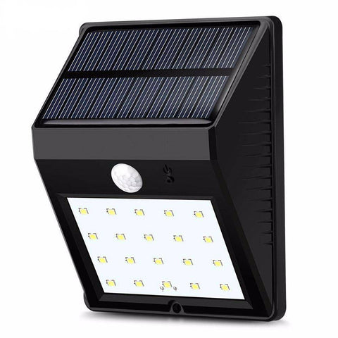 Security Solar Panel Lamp