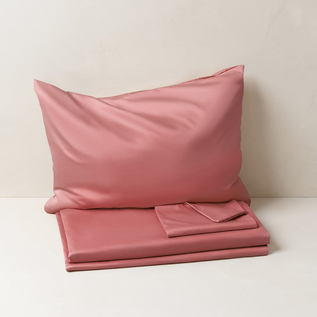 Cotton Signature Set - Terracotta Pink
