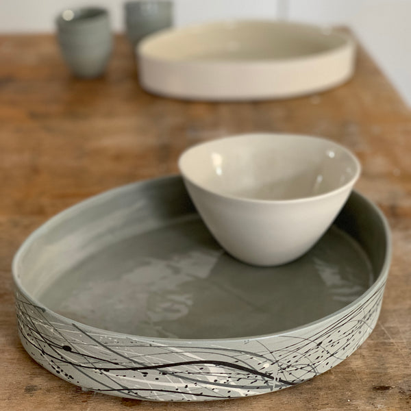 Eucalypt Large Serving Dish