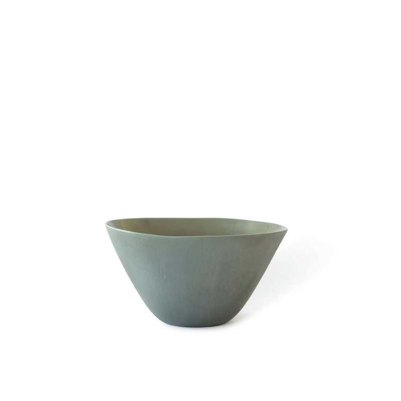 Handmade ceramic rice noodle bowl
