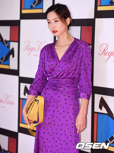 Nayoung Kim wore our dress at 'ROGER VIVIER' event.