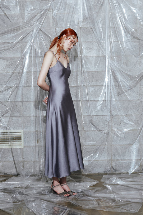 Slip Dress (DARK GREY)