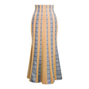 Layer Mermaid Skirt (BEIGE)