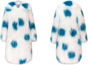 Dotted Fox Fur Coat
