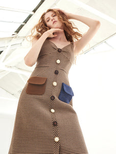 Flap Pocket Dress