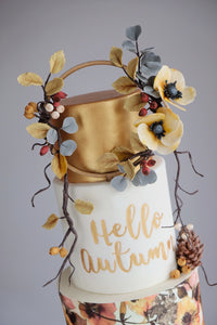Hello Autumn by Emilys Cakes Bespoke Design