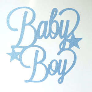 Baby Boy/Girl Paper Card Custom Toppers