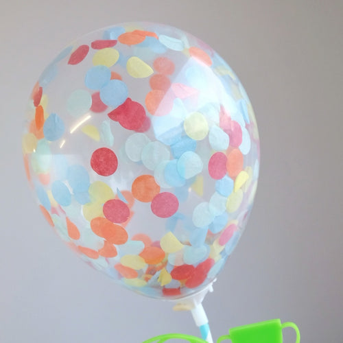 Festival Mix - Mini Confetti Balloon 2pk