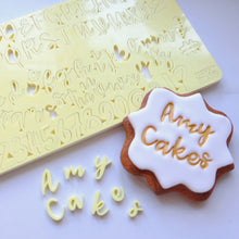 Sweet Stamp - Cookie - Uppercase, Lowercase, numbers & Symbols
