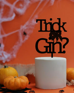 Trick or Gin Topper