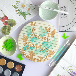 SWEET STAMP - Enchanted Garden Elements