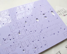 Sweet Stamp - Classic Set - Uppercase, Lowercase, Numbers & Symbols