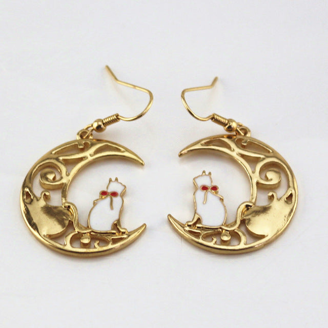white rabbit in express japan september lady order now sailor ships pre black earrings crystal moon