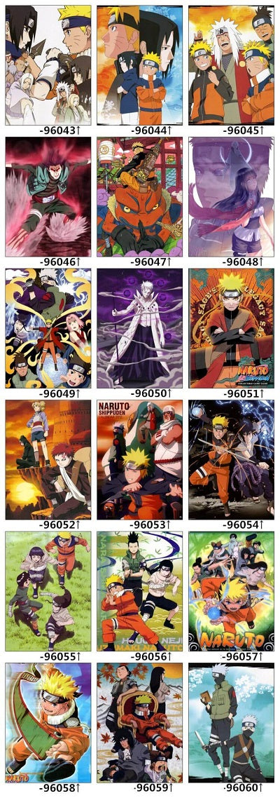 Naruto Bed Set Designs