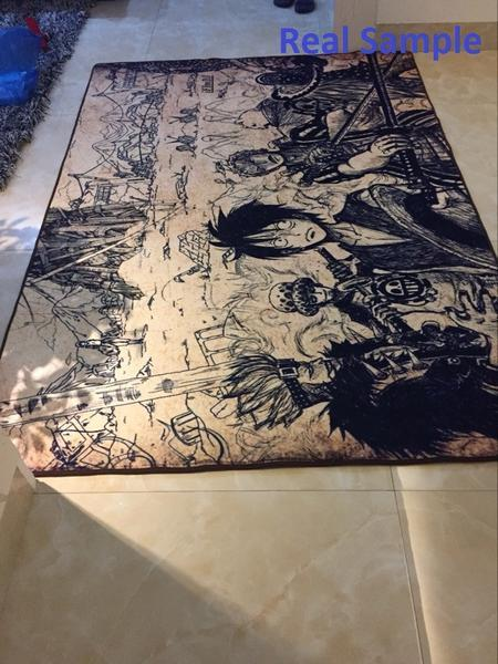 Dragon Ball Rug Goku with Black Background
