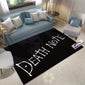 Anime Rug, Death Note Plain Design Carpet